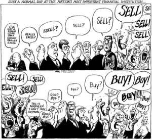 What the Stock Market's Like!