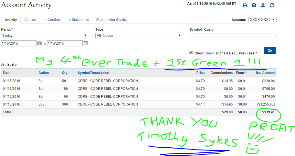 MY FIRST EVER GREEN TRADE at my 4th Attempt!