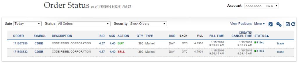 $CDRB Trade Proof & Profit